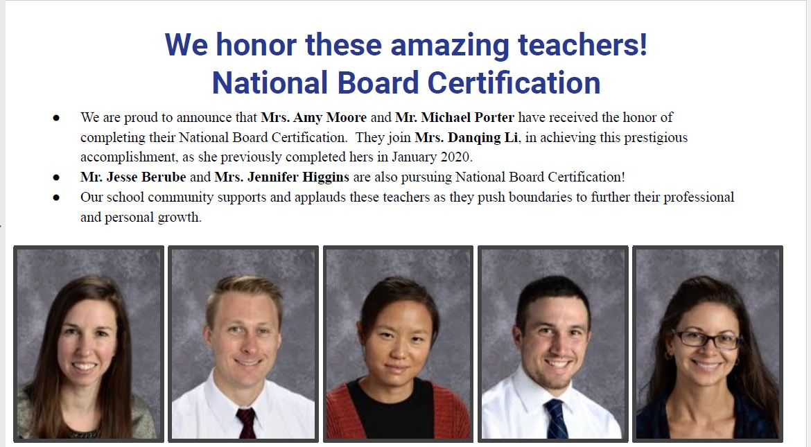 National Board Cert