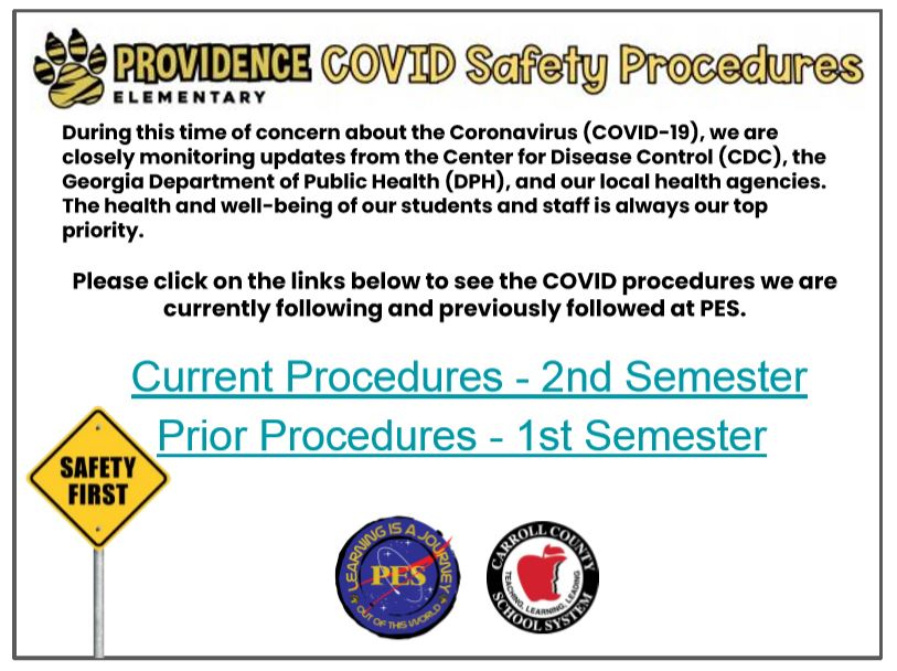 PES COVID Flyer
