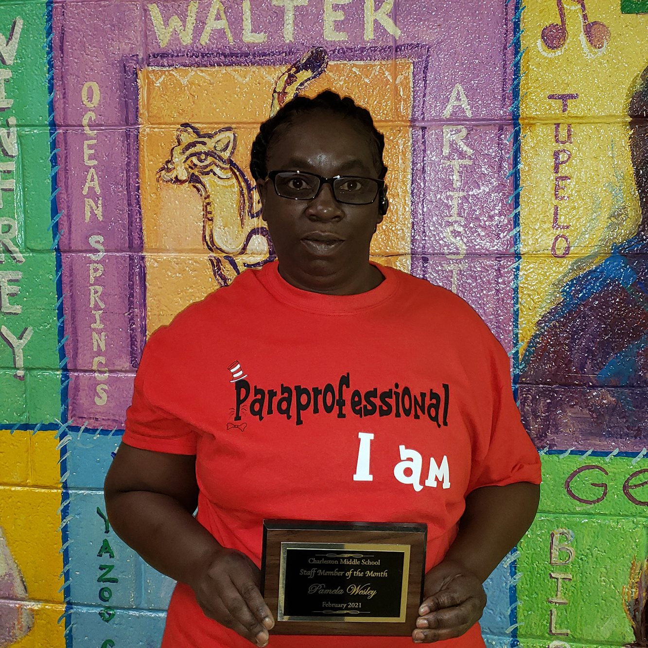 Teacher/team member of the month