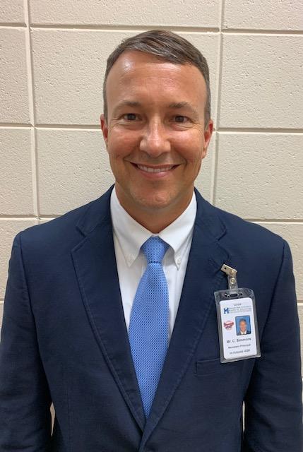 Chad Simmons Assistant Principal
