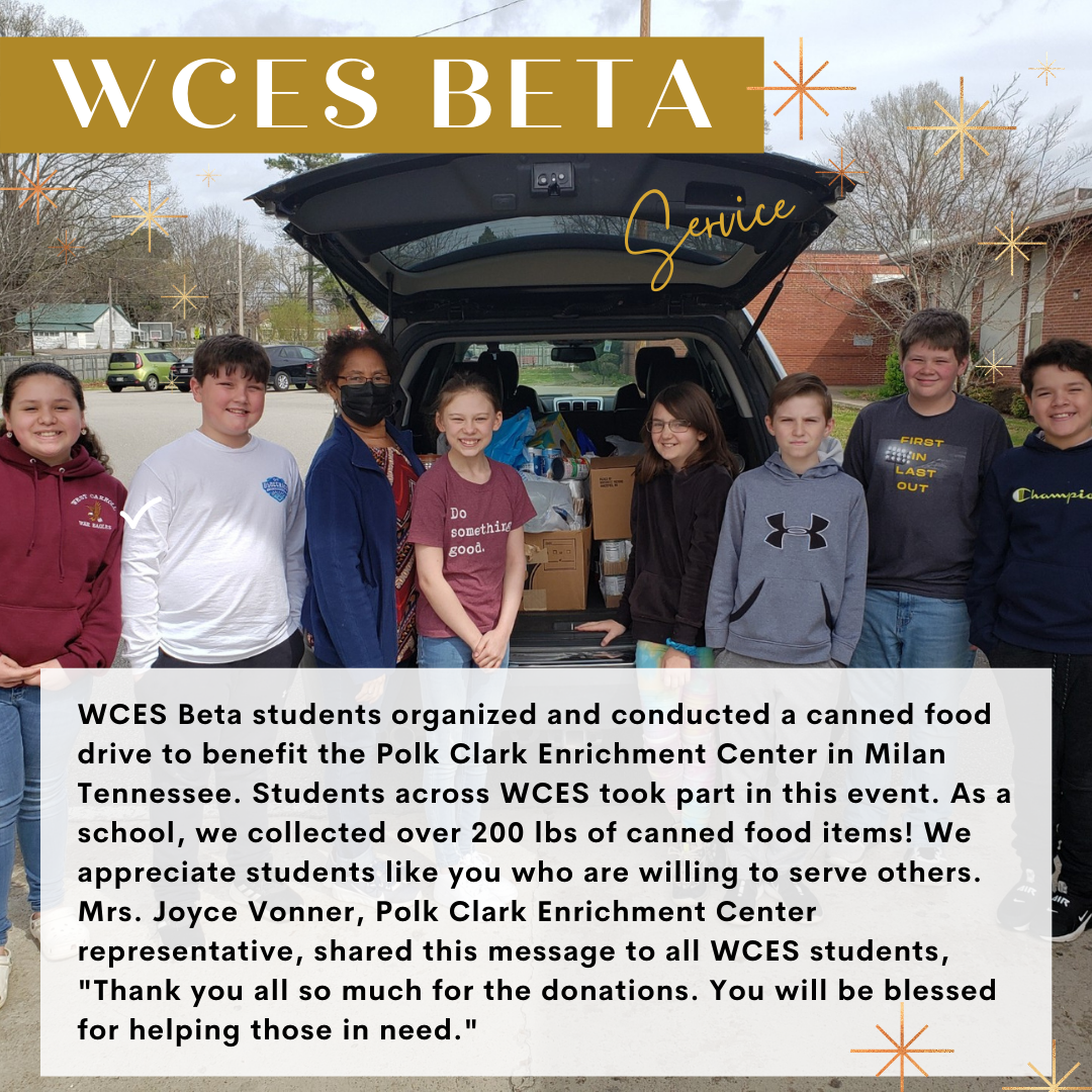 Beta Canned Food Drive
