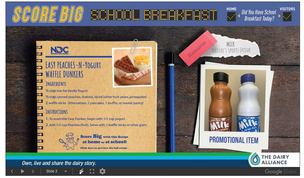 Score Big School Breakfast 3