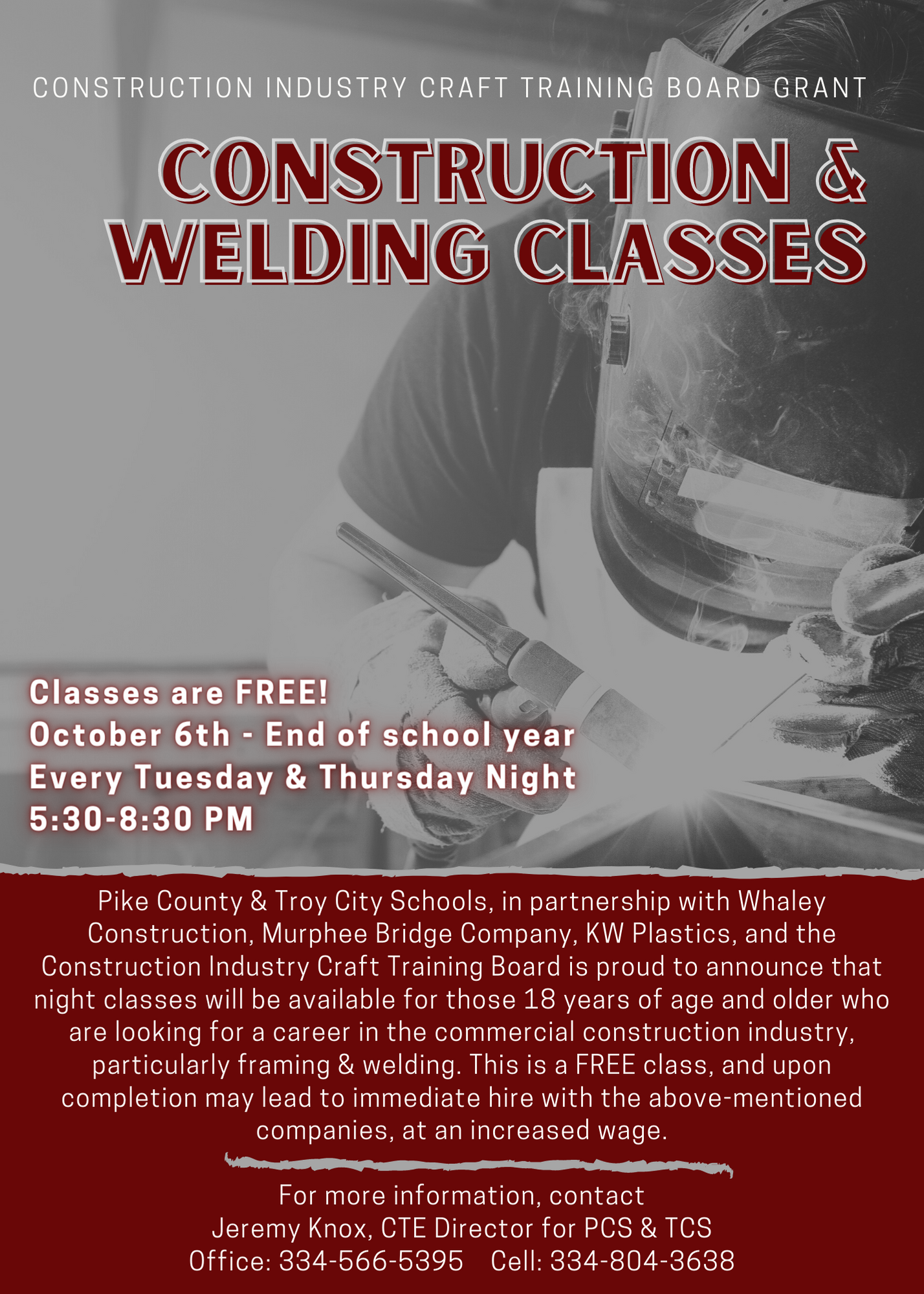 CTE night Class Info