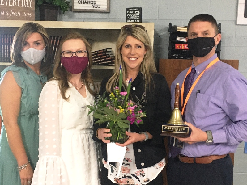 DMS Teacher of The Year Galen Brown Photo Courtesy of WJLE