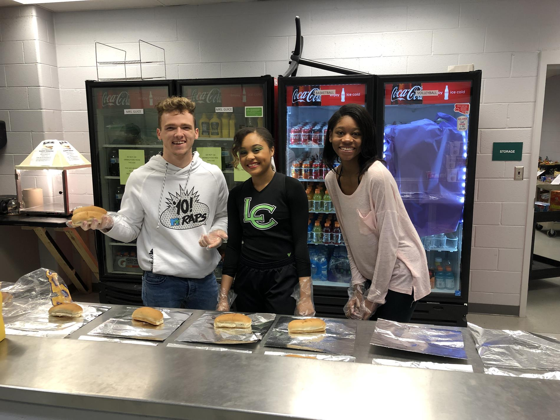 Teachers vs. Students Basketball Game Concessions 2019