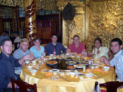 China-Students eating out