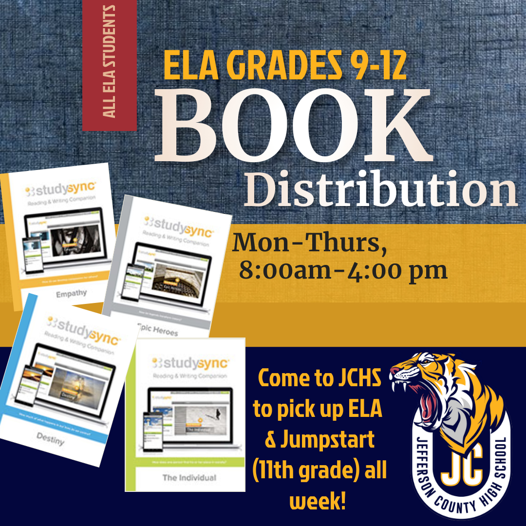 ELA BOOK PICK UP