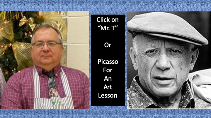 """Mr. T's"" Art Lesson on Picasso"