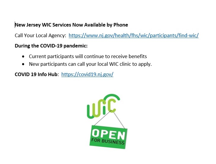 WIC- We're Open photo
