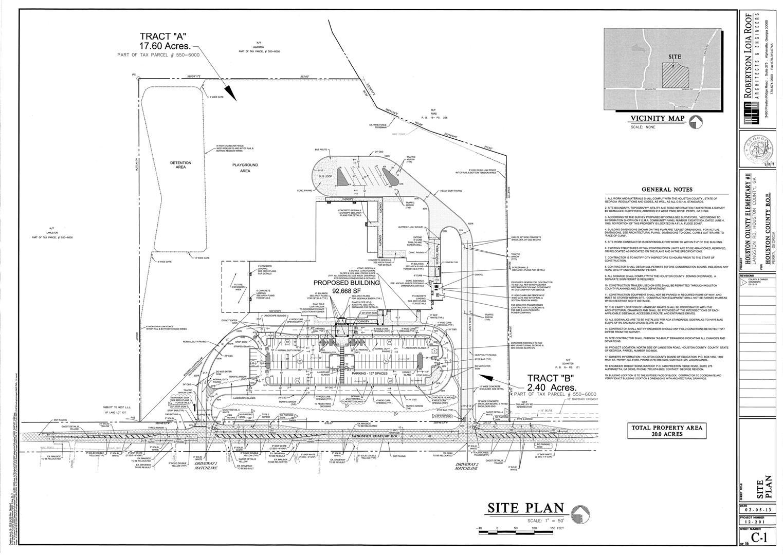 Langston Road Elementary Site Plan