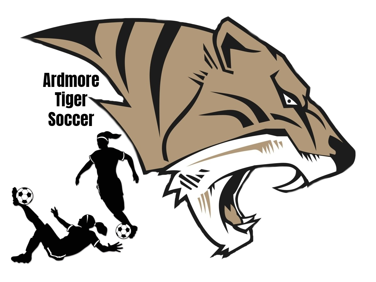 AHS Tiger Head Girls Soccer Logo