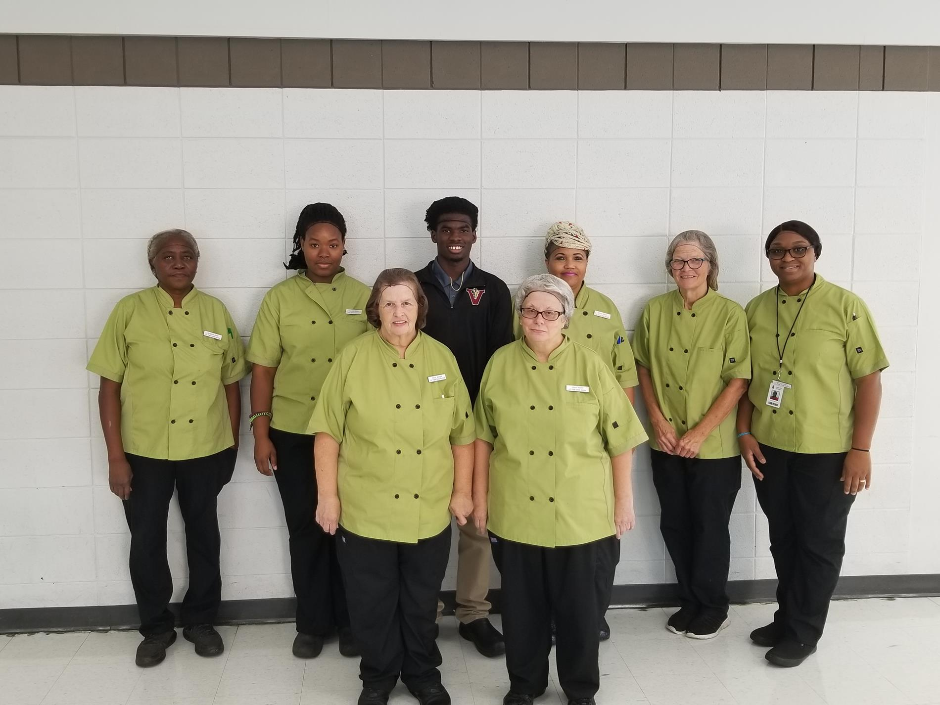 Trippe Lunchroom Staff