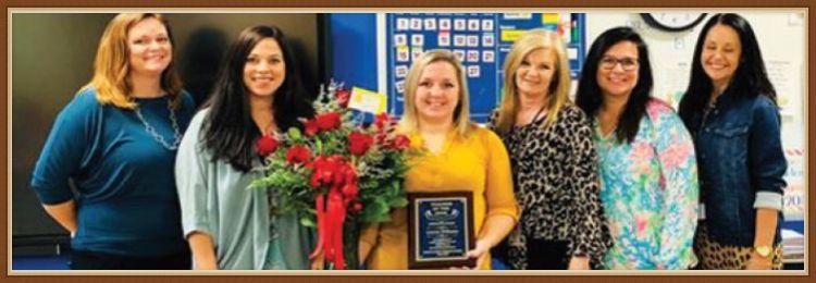 Mrs. Lauren Williams and School Administraotrs