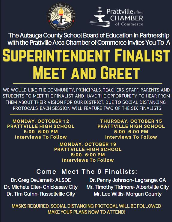 Superintendent Candidate Interviews