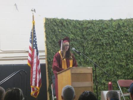 Salutatory speech