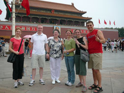 Beijing Square visit by DBU team led by Ann Boyles