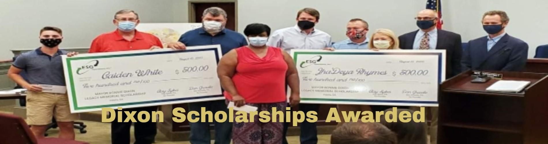 Dixon Scholarships Awarded