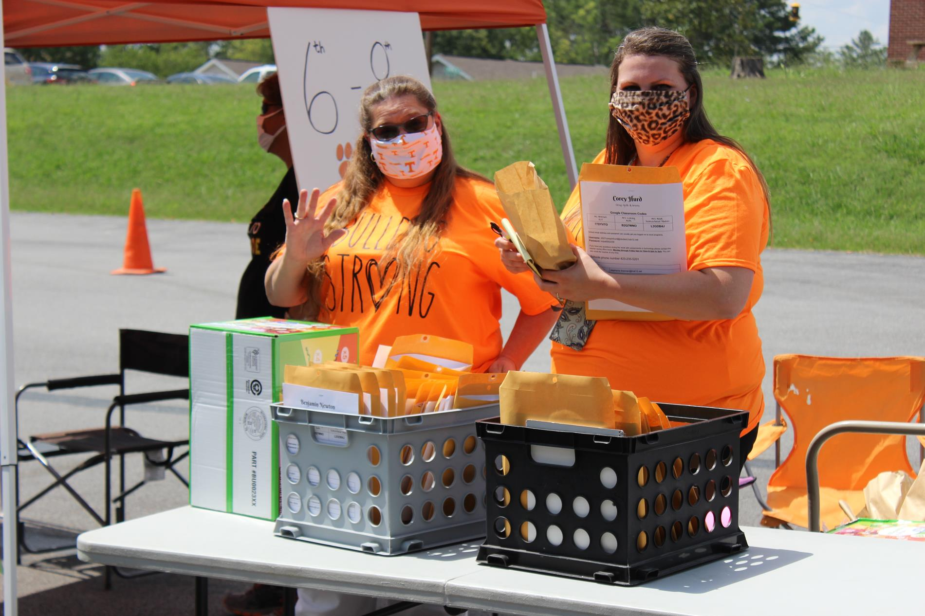 Pictures from the 2020 Back to School Bash