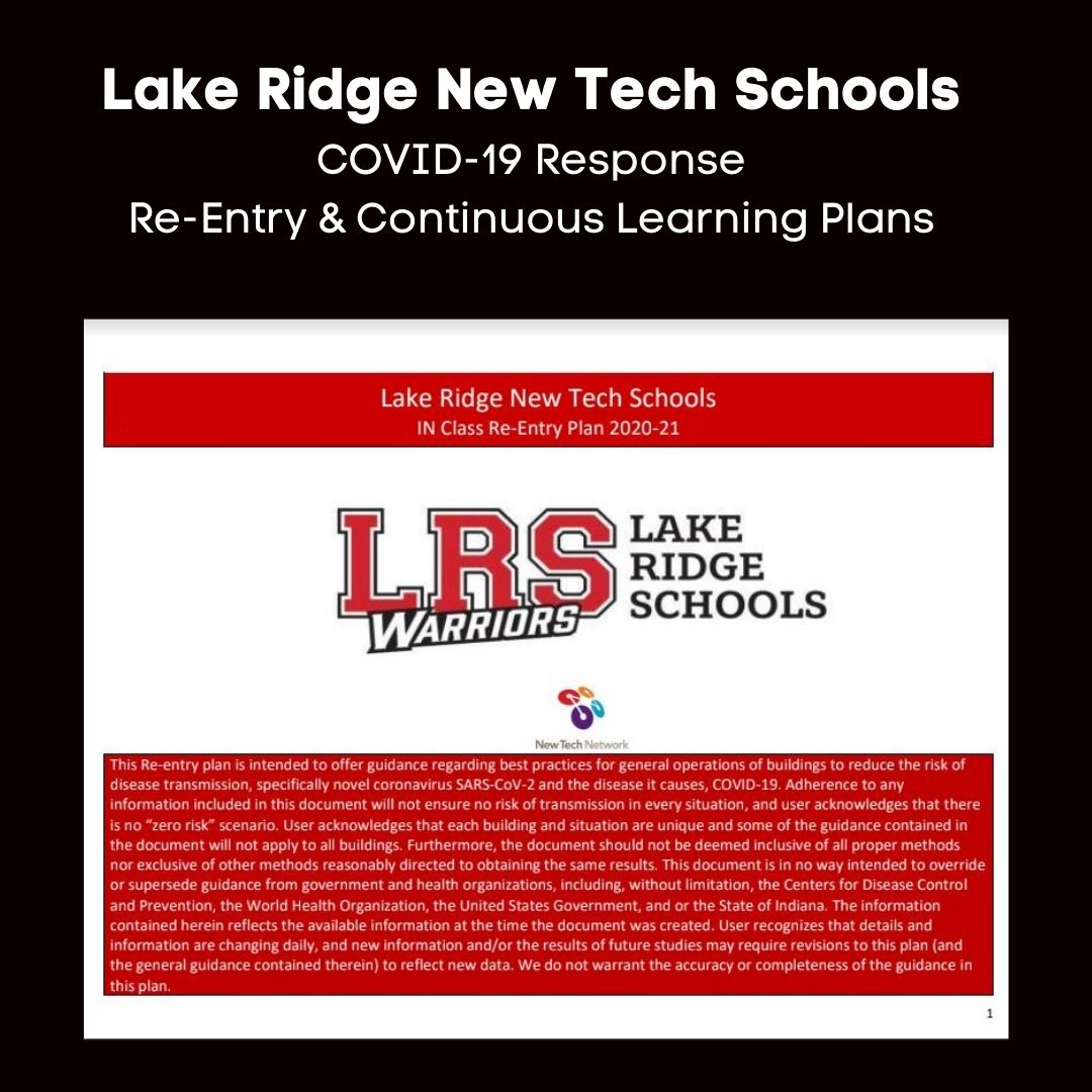 E-Learning, Continuous Learning Plan, Re-Entry Plan, COVID-19