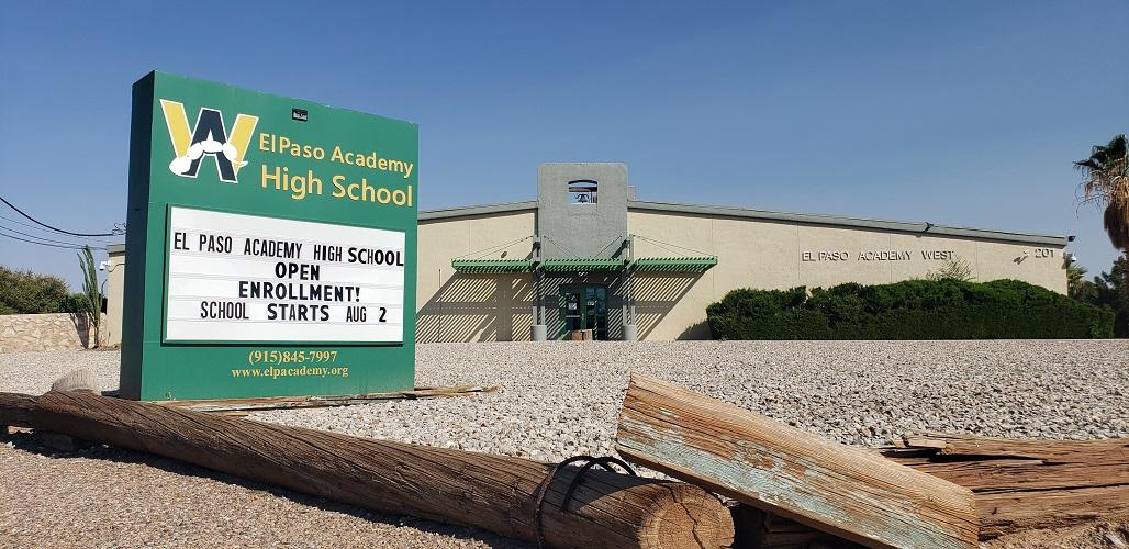 El Paso Academy West Campus Front Building