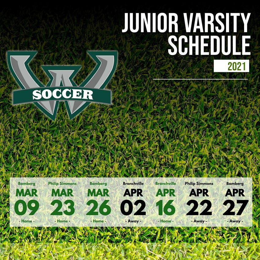 JV Soccer Schedule