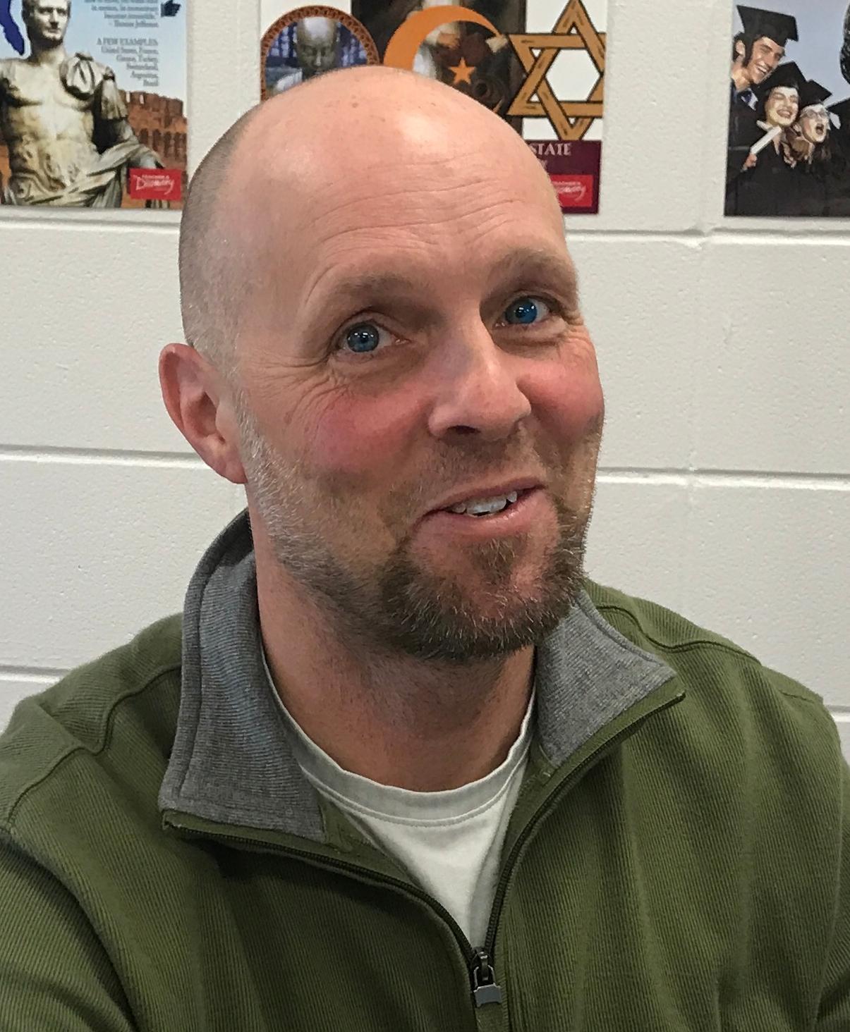 Bruce Cheatham, MS History/Coach