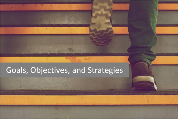 Goals, Objectives, and Strategies image