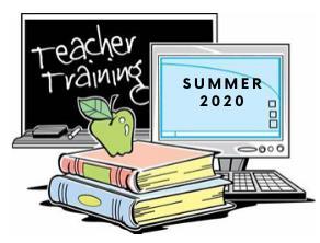 Summer 2020 PD Teacher Training Opportunitites