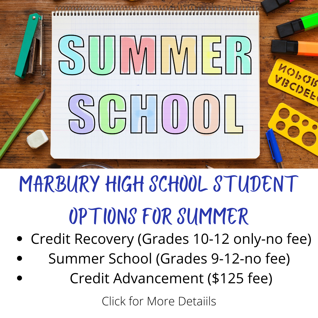 MHS Student Options for Summer
