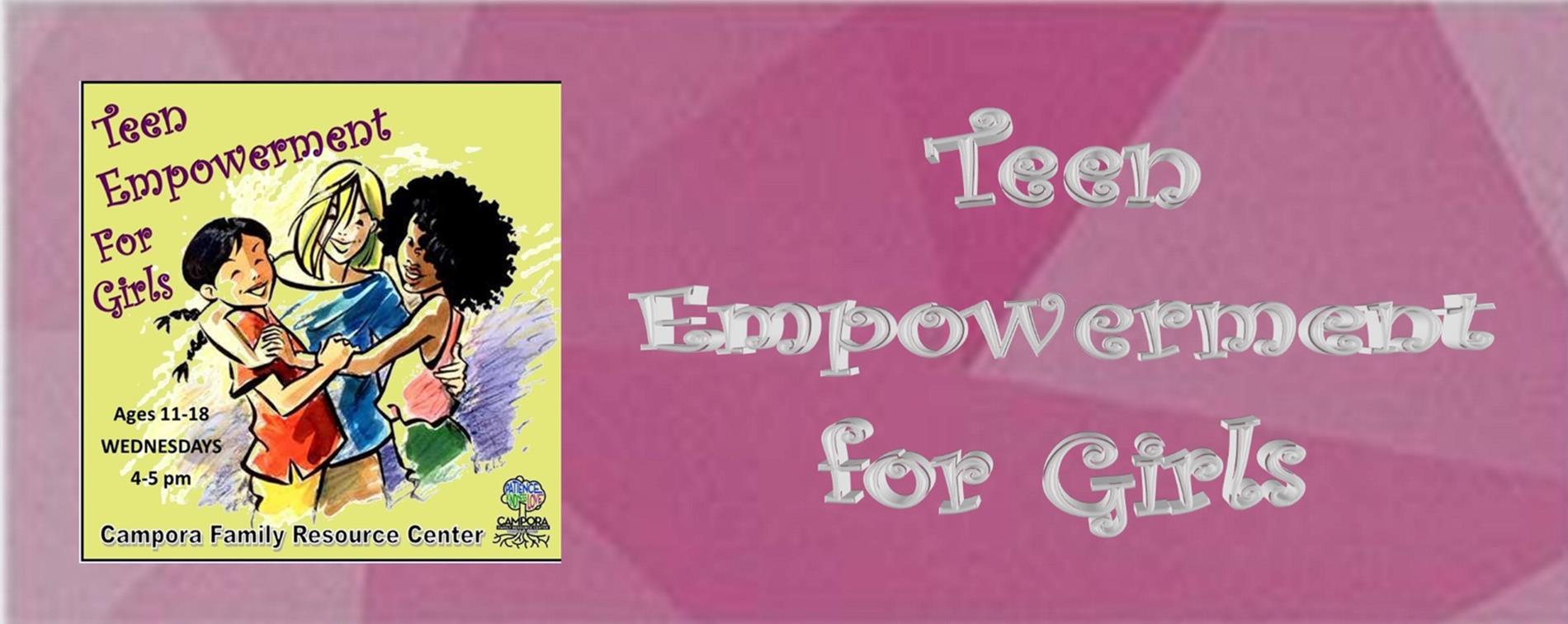 Teen Empowerment Header