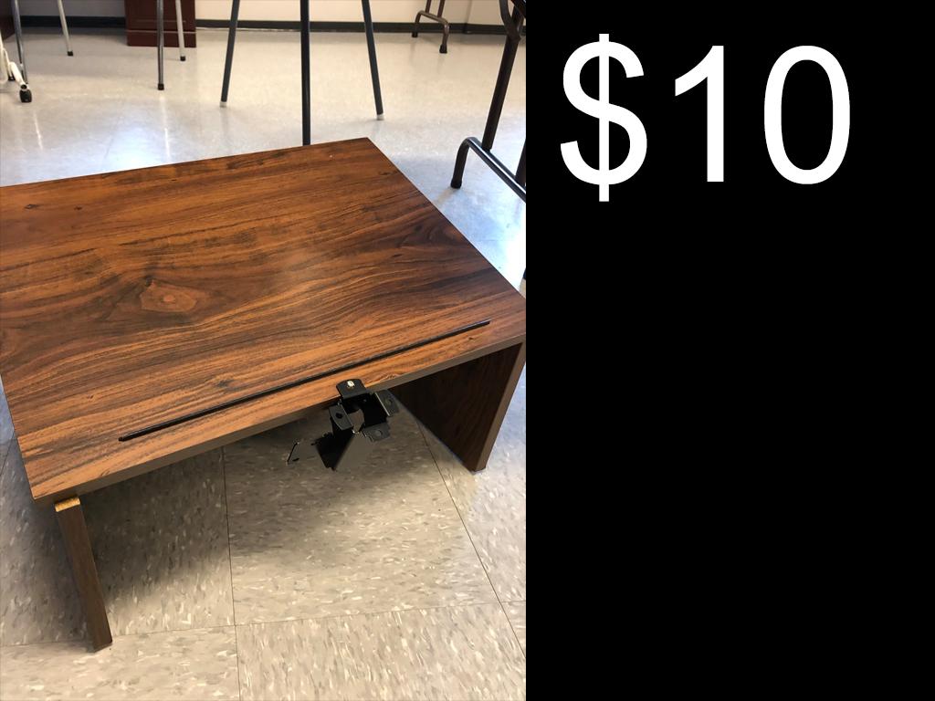 $10 Desktop Podium