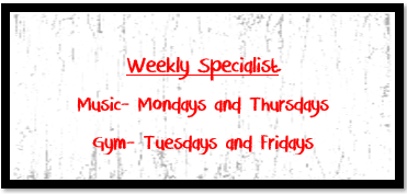 Weekly Specialists