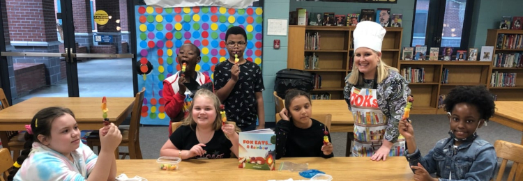 TCES Students cooking at school