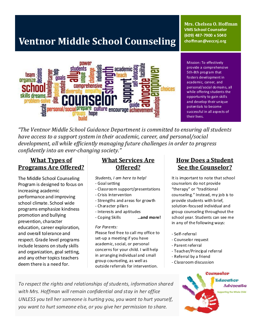 VMS Counseling Brochure