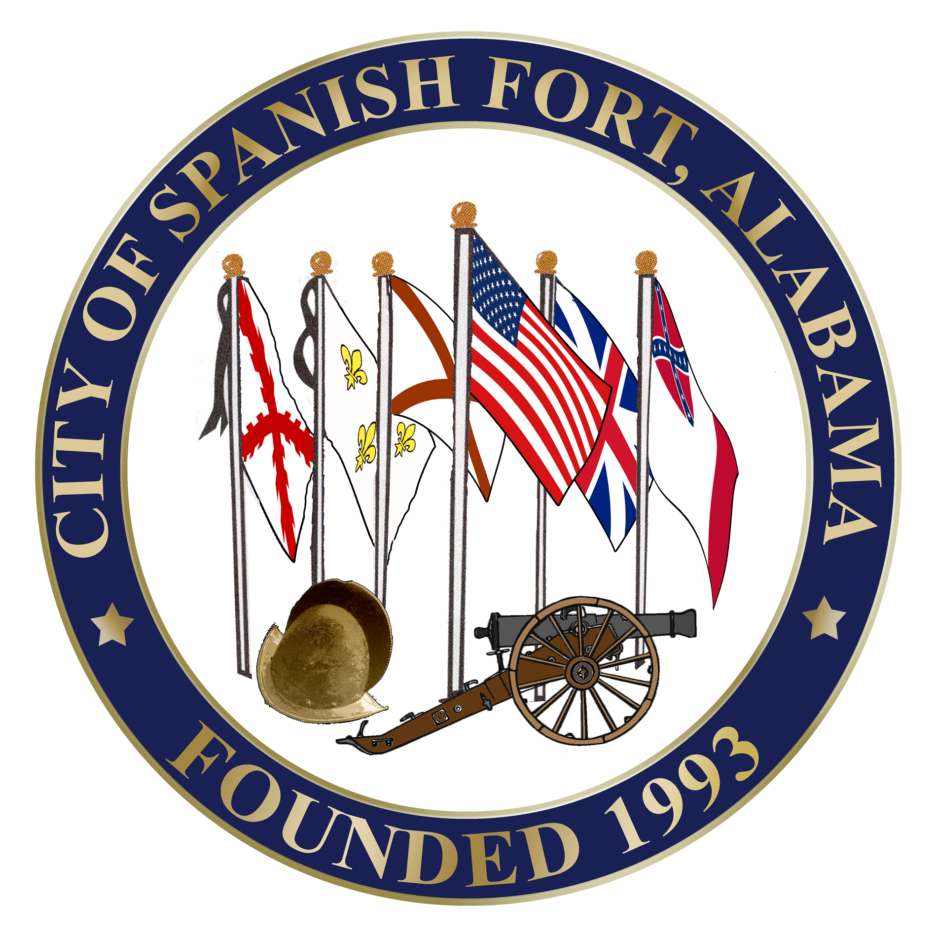 Official seal of the city of Spanish Fort, Alabama