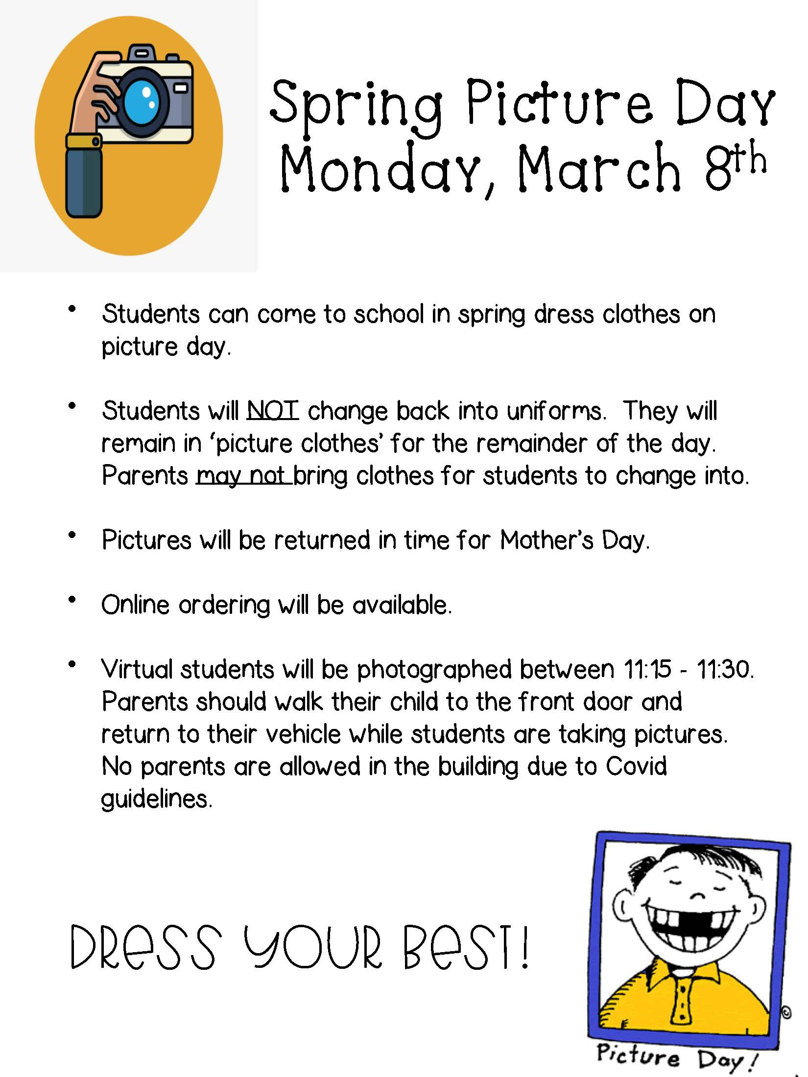 Spring Pictures March 8th