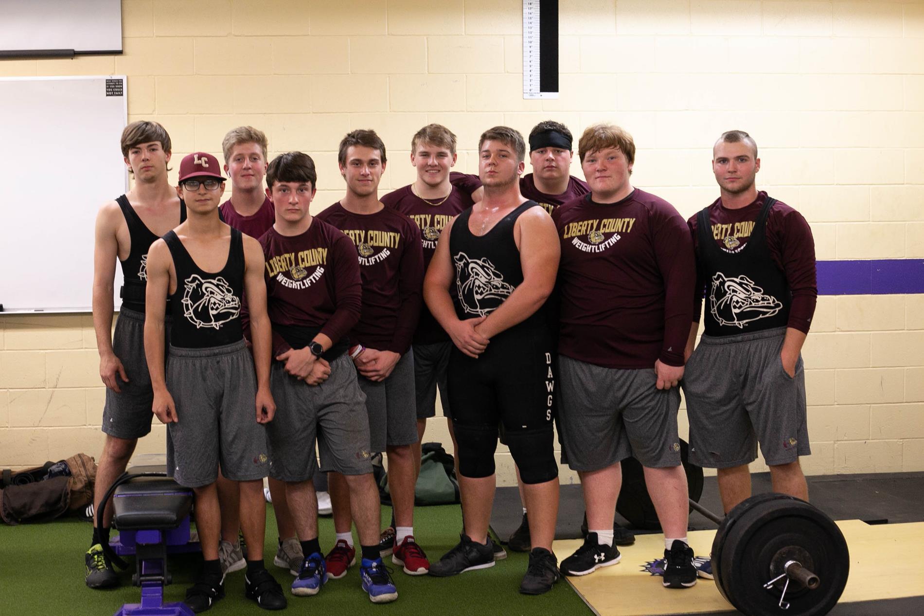 2020 Boys Weightlifting