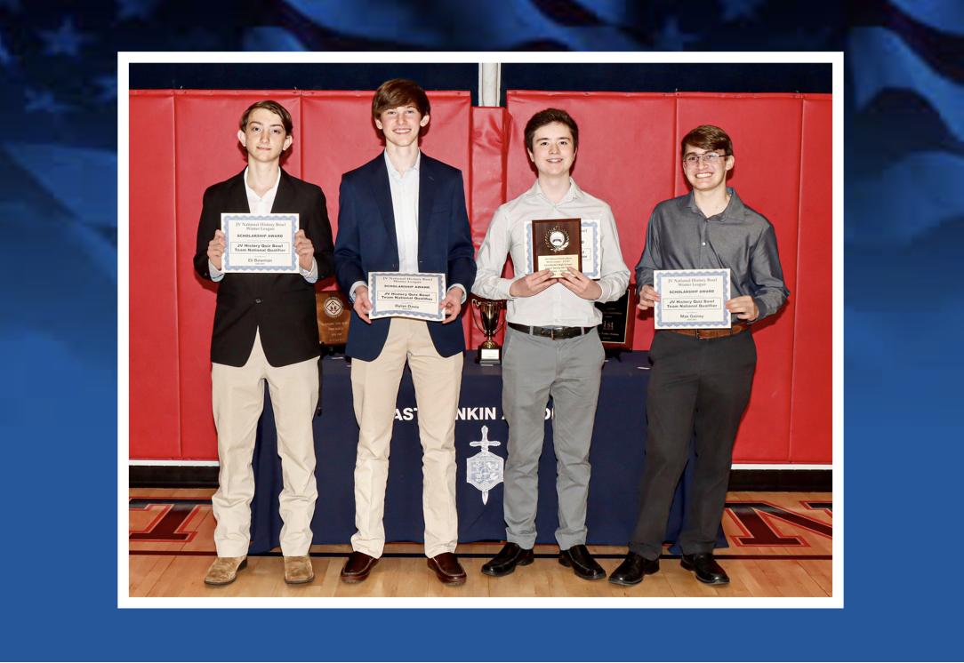 ERA Junior Varsity History Bowl Team