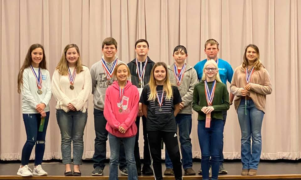 2019-20 JH UIL Academics - 2nd Place District Meet