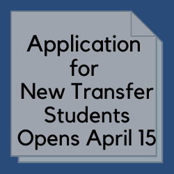 New Student Transfer Application
