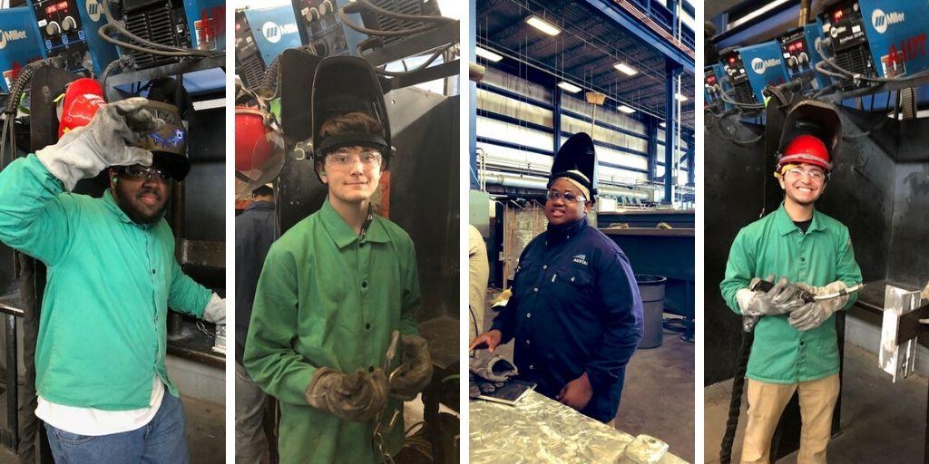 Austal apprentices