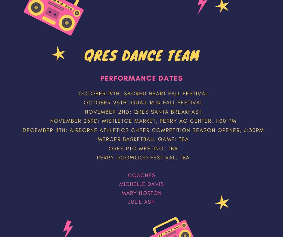 QRES Dance team