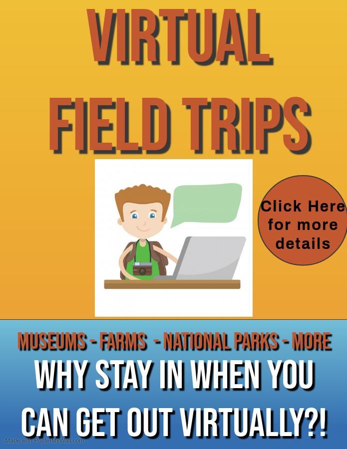 Virtual Field Trips Flyer