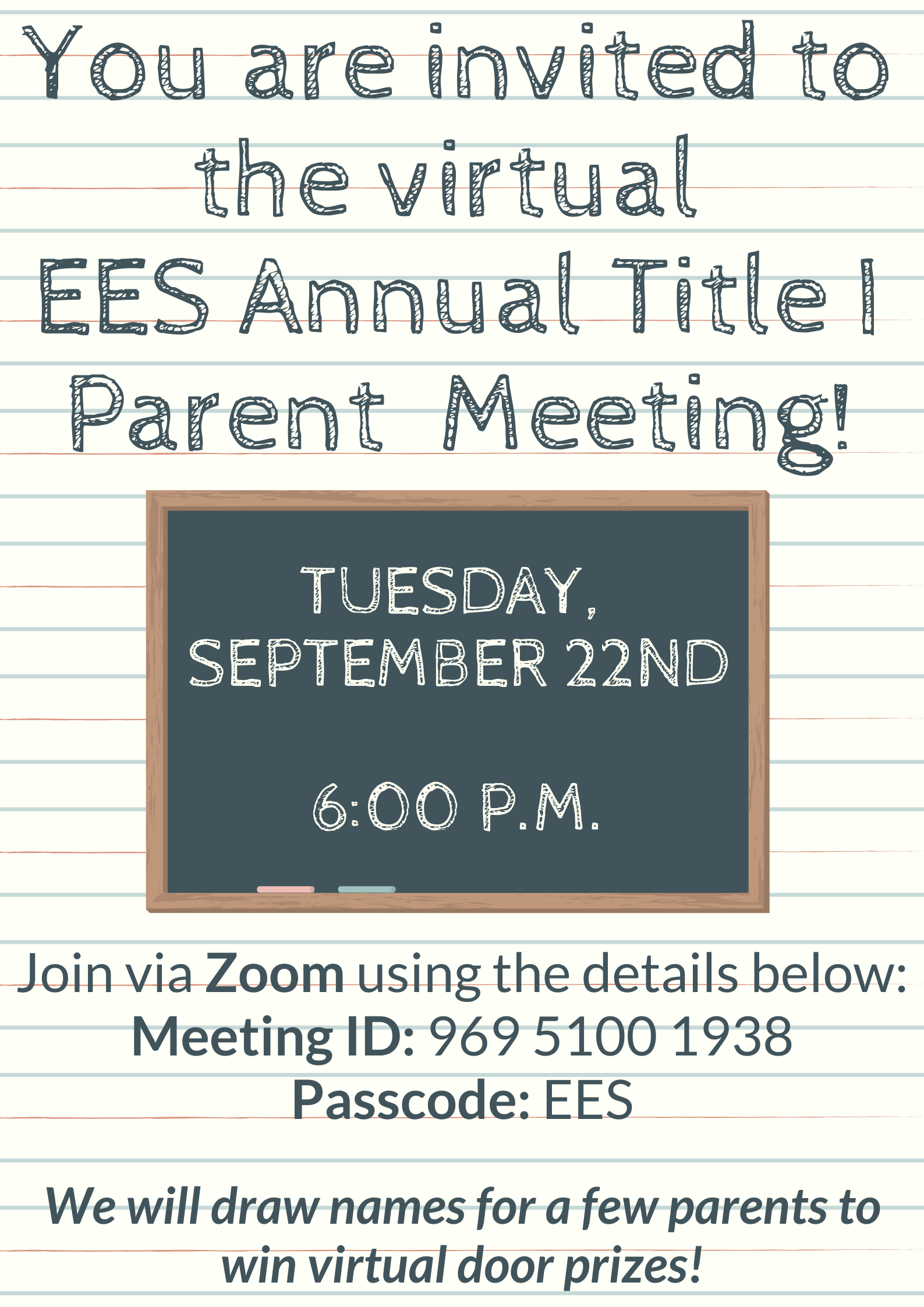 EES Title Meeting