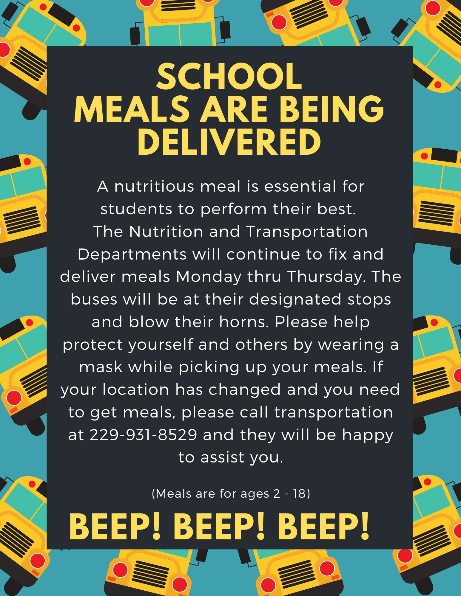 School Meals Delivered