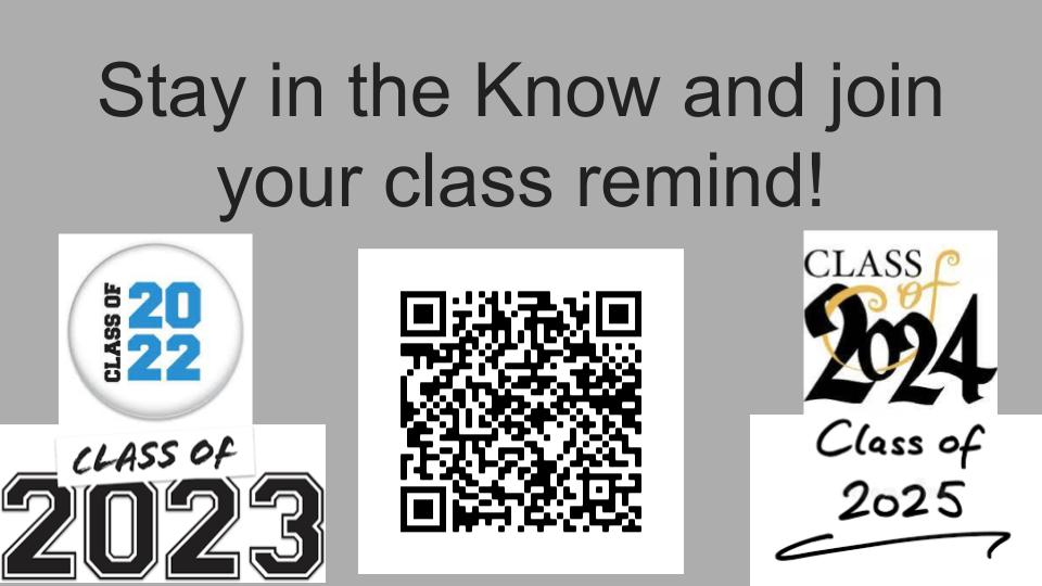 QR to all Class code pages