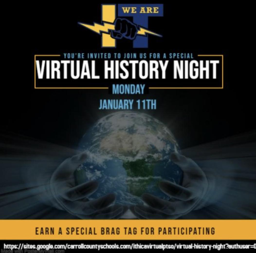 virtual PTSO and History night