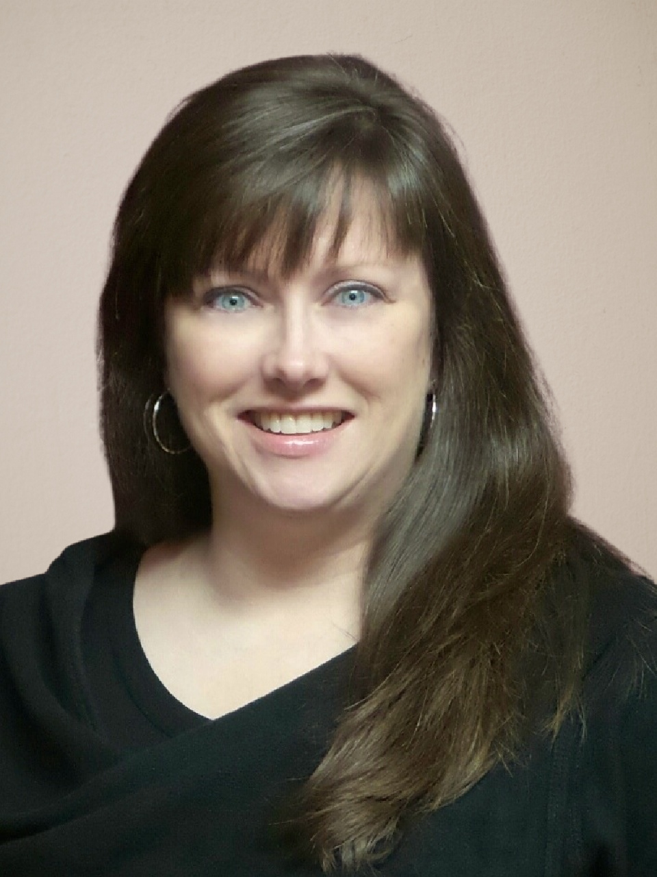 Close-up of Jen Marshall