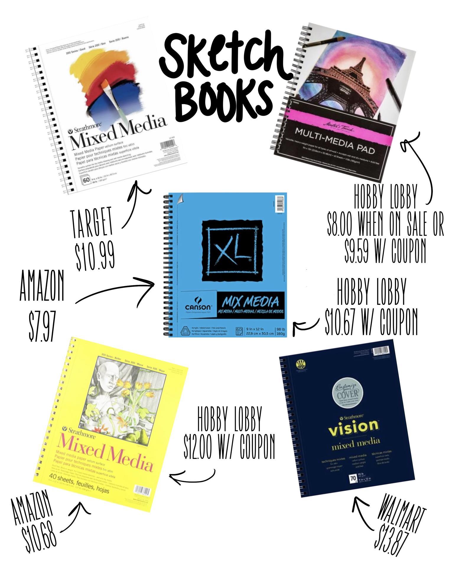 Best sketchbook deals!