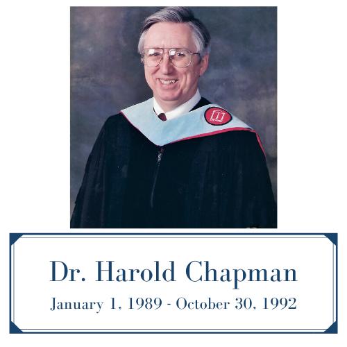 Dr. Harold Chapman